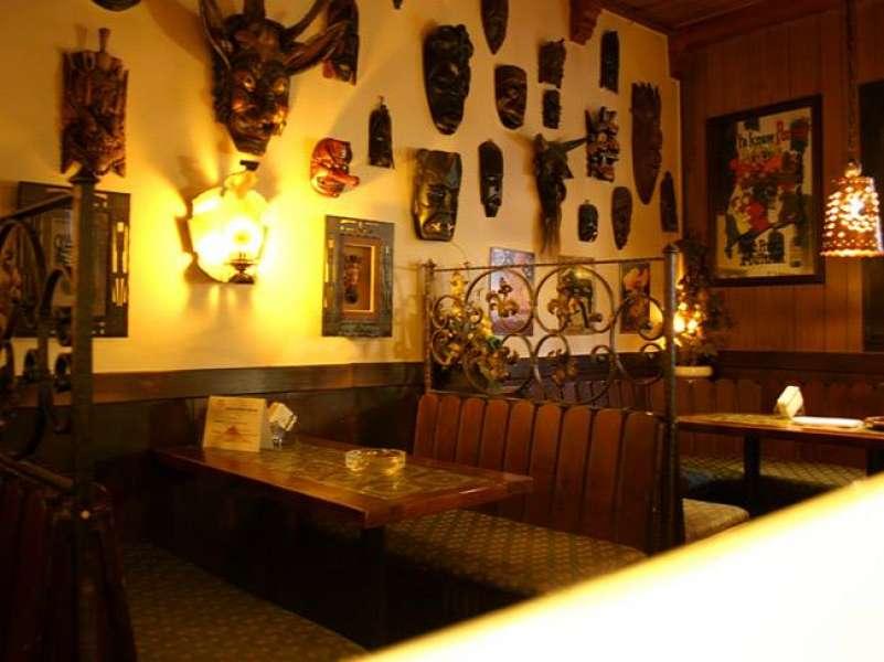 Bar Bereich der Sauna Vulcanus