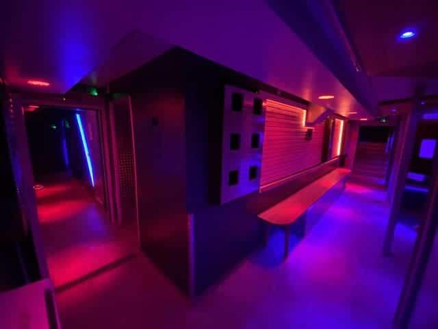 Saunawerk Frankfurt die Kabinen
