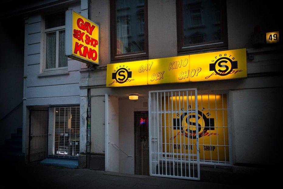 Sparta-Junior Gay Sex Darkroom Sling Kino
