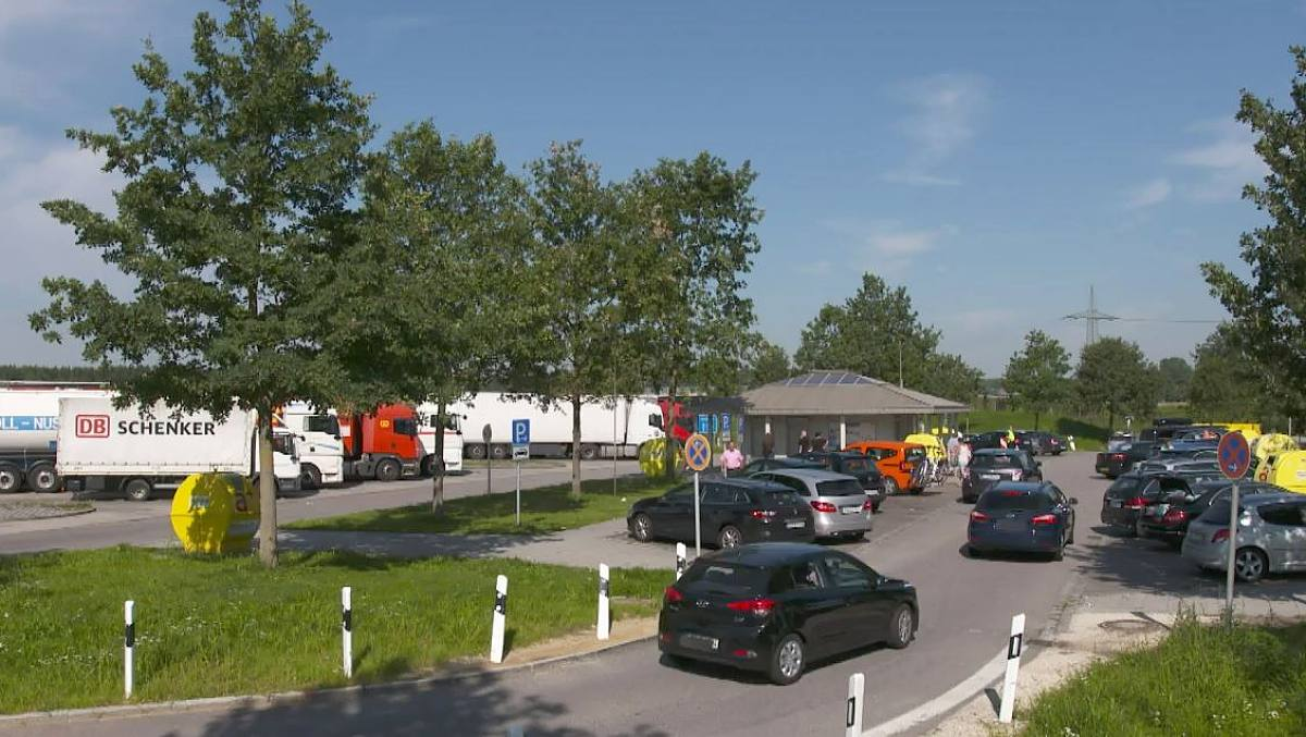 A7 Parkplatz Moorkaten West