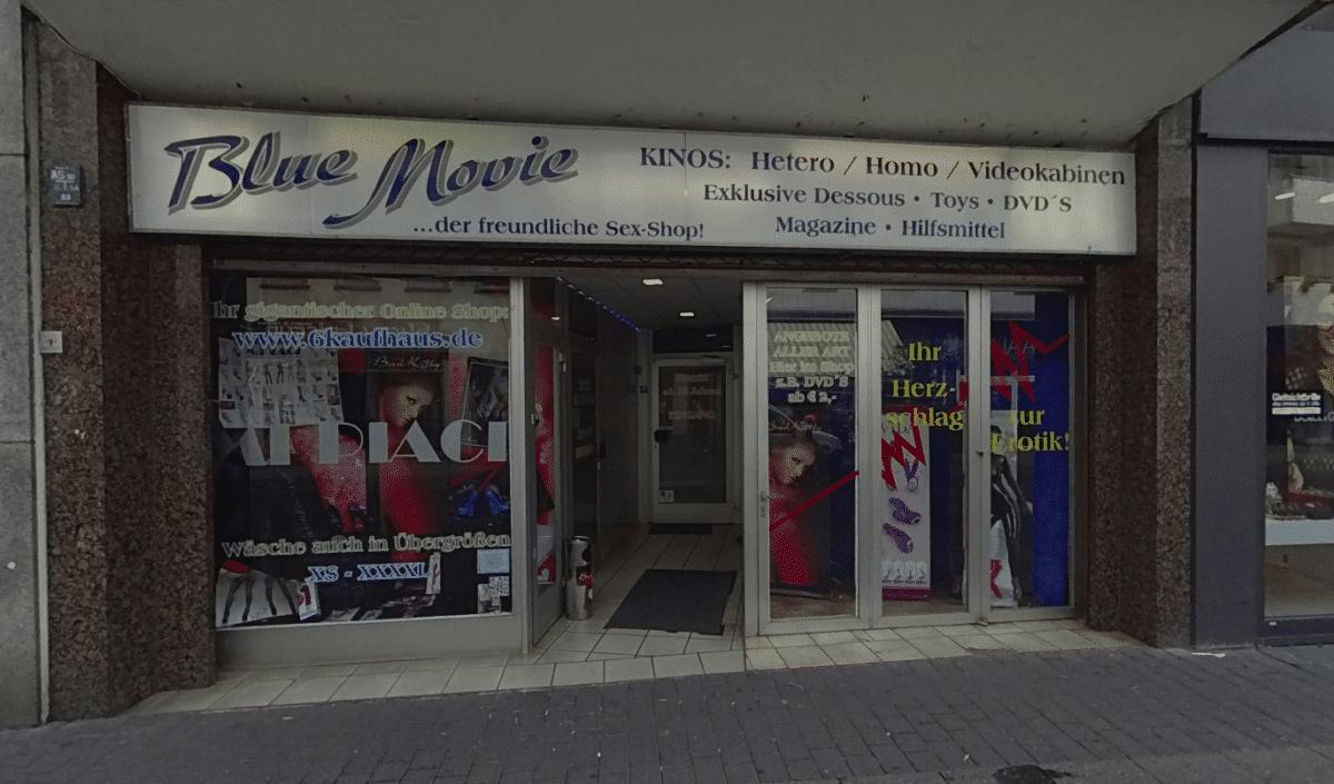 Blue Movie 🎥 Das Gay Kino hat eine erotische Atmosphäre