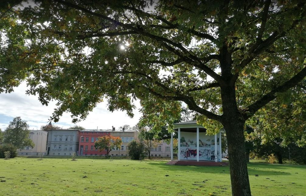 Rosengarten von Güstrow