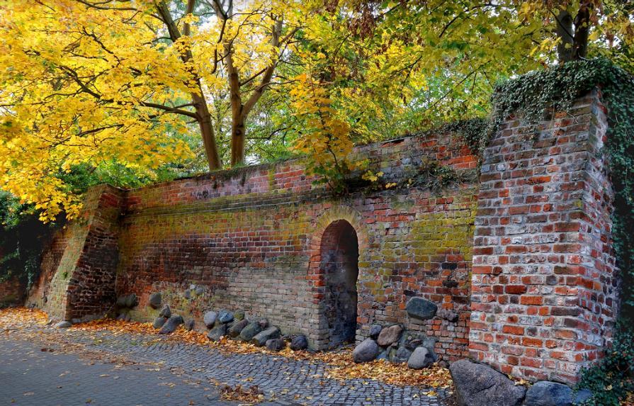 Wallanlagen von Greifswald