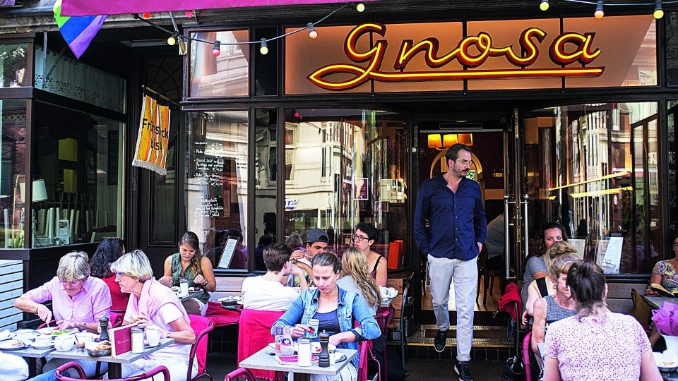 Das Café Gnosa eine Gay Bar in Hamburg