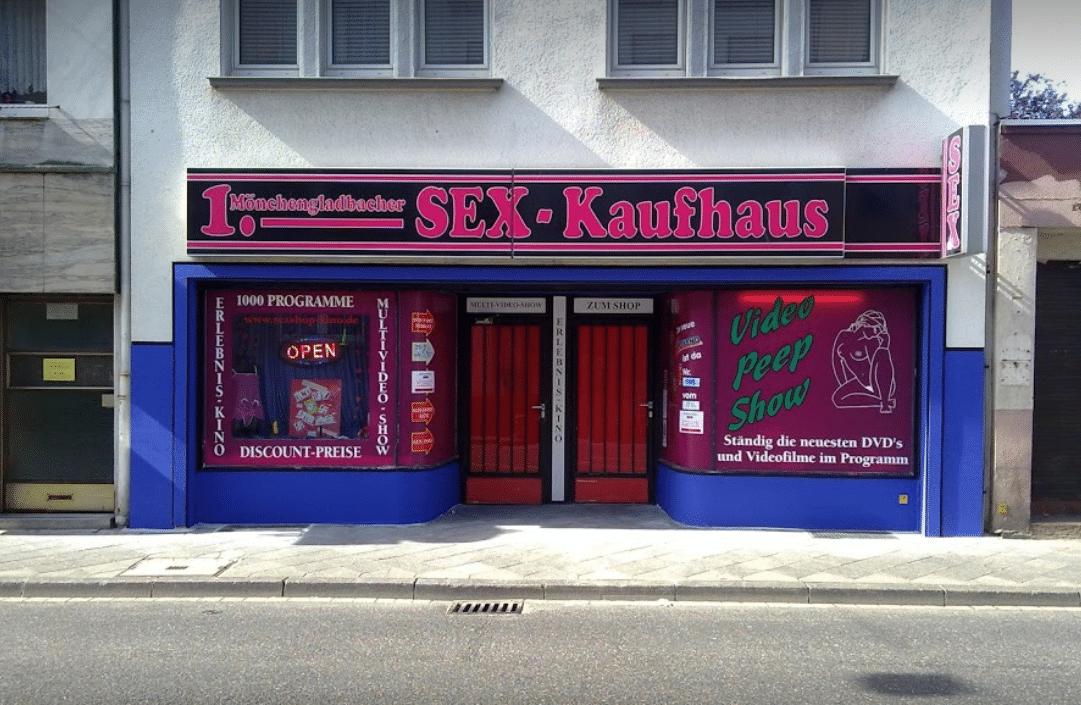 Sex-Kaufhaus Mönchengladbach 🎥 Das Gay Kino für heißen Spaß