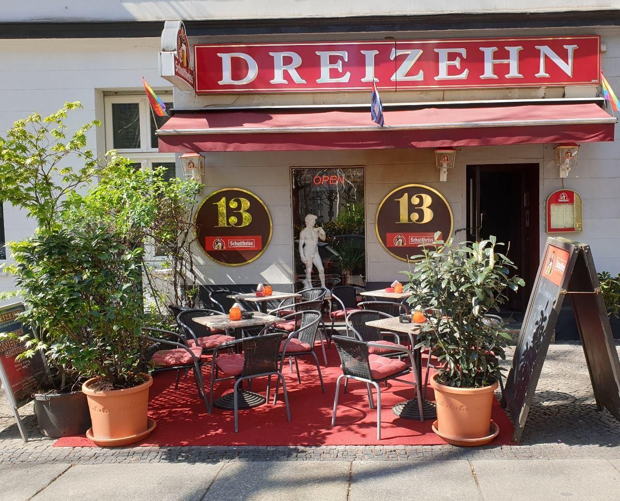 Die Bar Dreizehn ist eine Gay Bar in Berlin