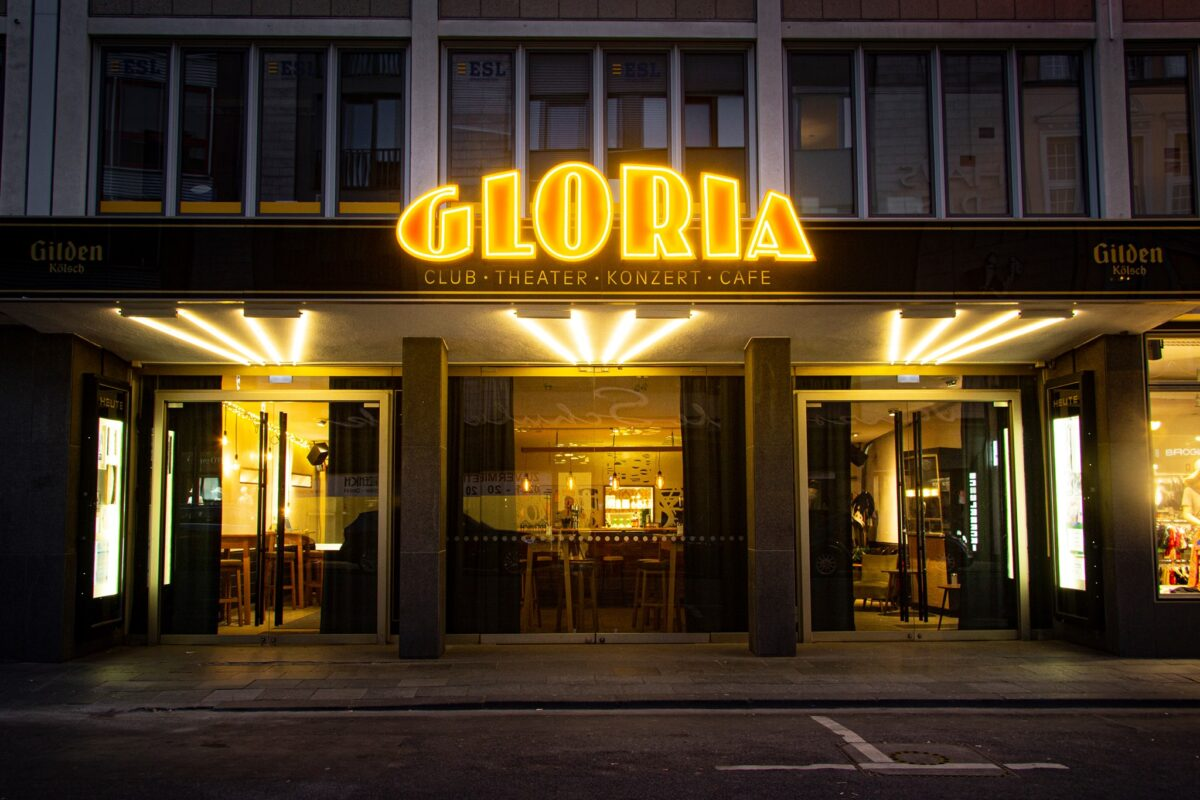 Das Gloria Theater eine Gay Bar in Köln