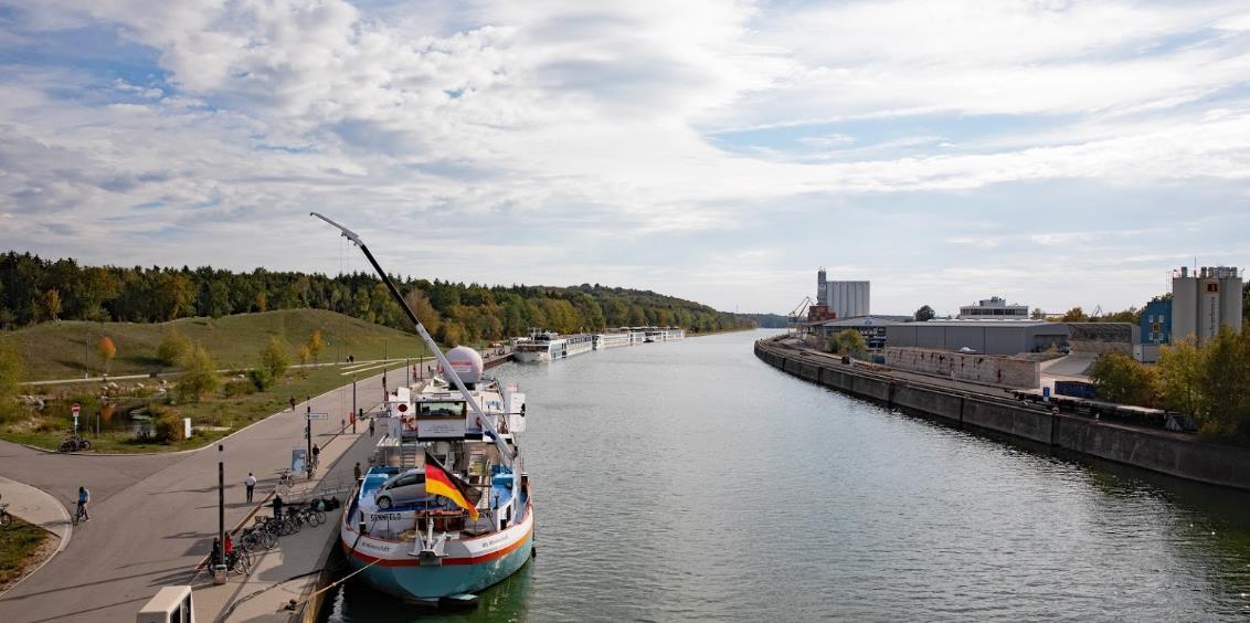 Hafenparkplatz Nürnberg