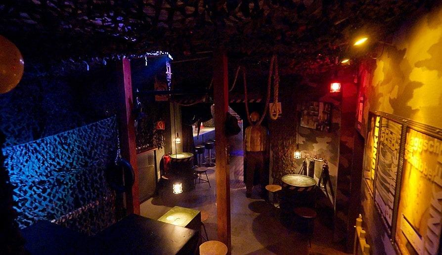 Der Bunker das Original ist eine Gay Bar in Dresden