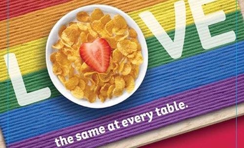 Kellogg's Pride-Edition macht das Frühstück bunt