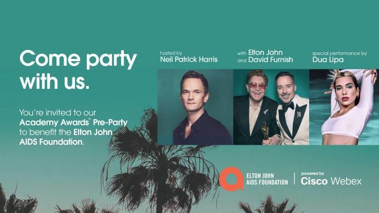 Elton Johns virtuelle Oscar Party