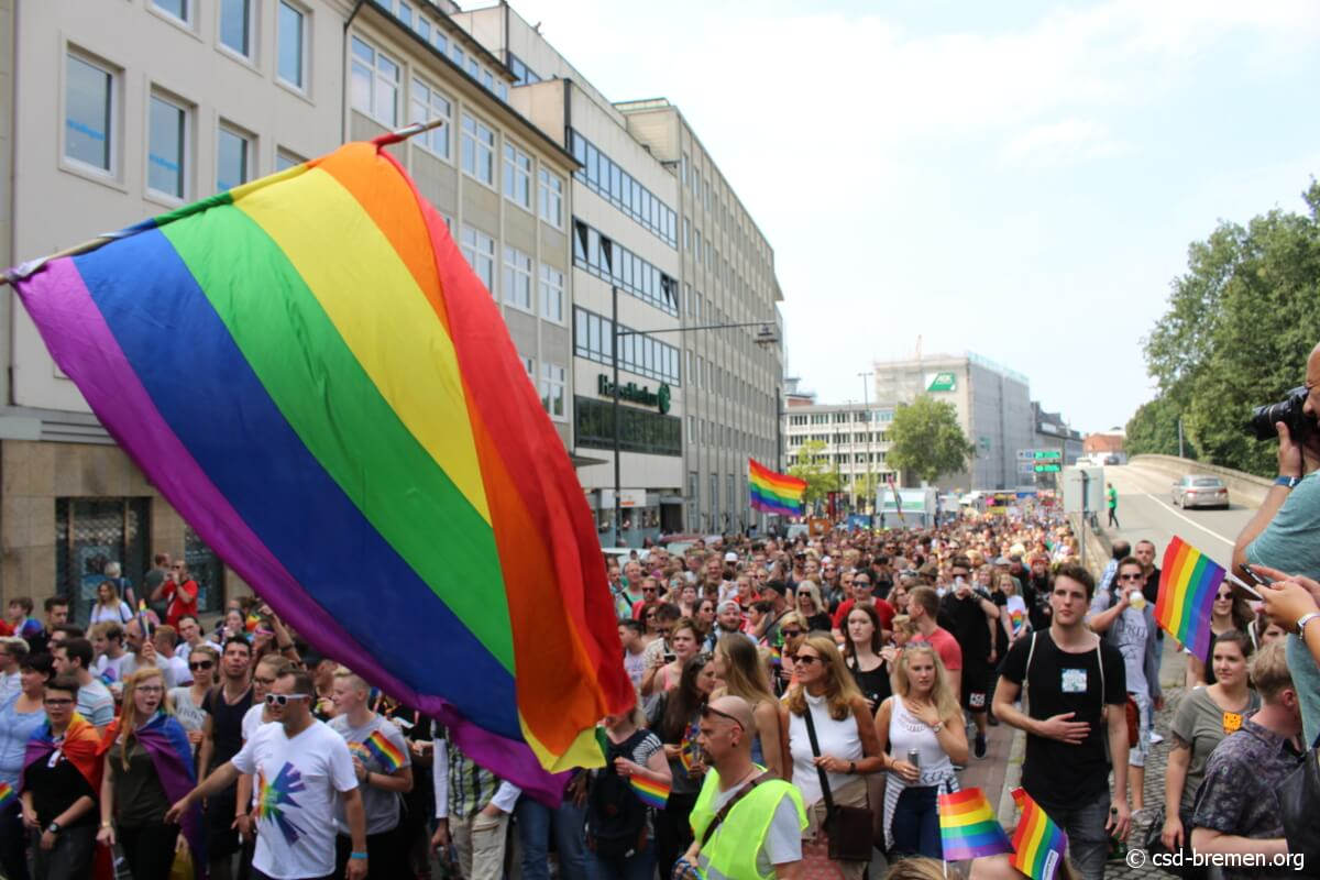 Fetisch verbot beim CSD in Bremen