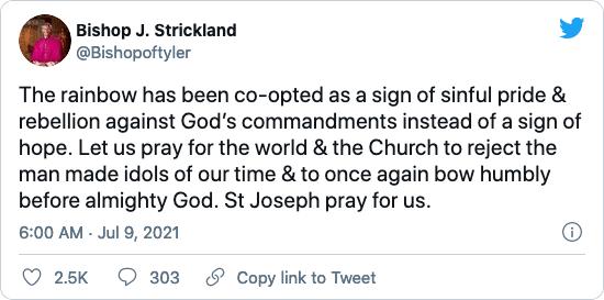 Bischof Strickland gegen Schwulen und Lesben