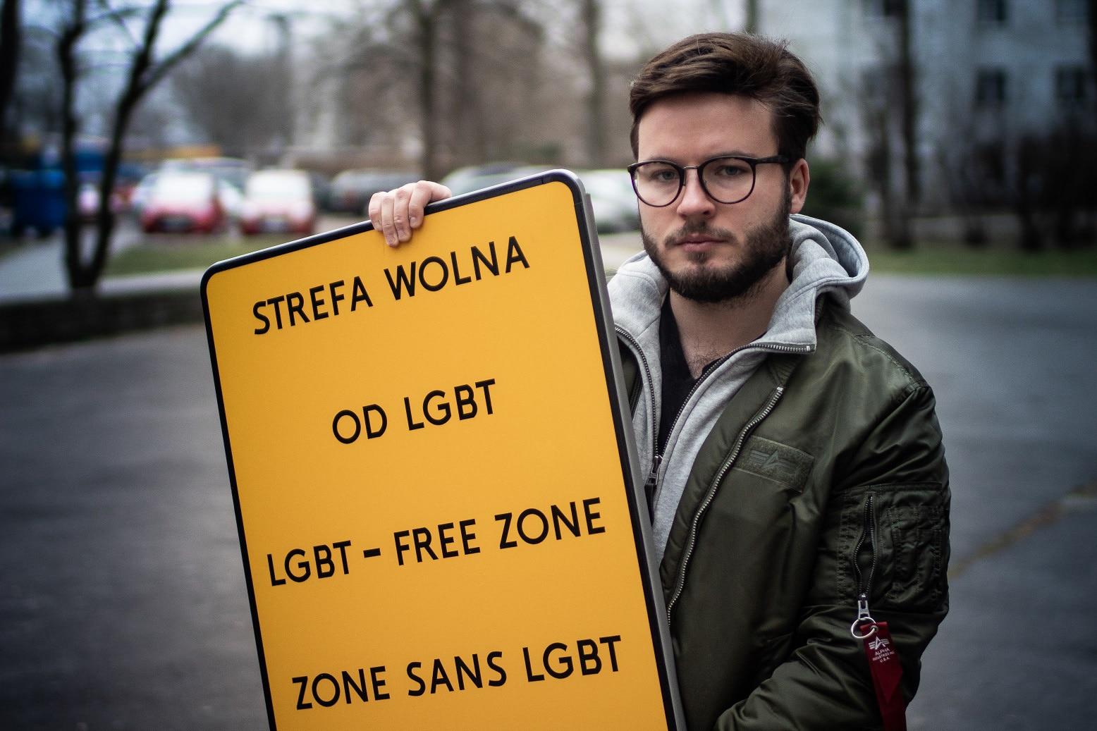 LGBT freie Zonen haben Folgen
