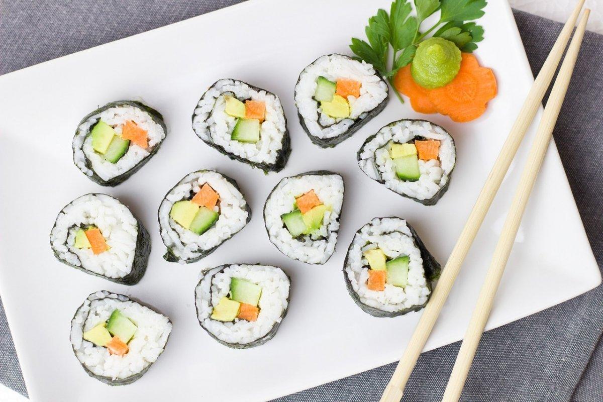 Rezept Idee Nr. 4: Sushi